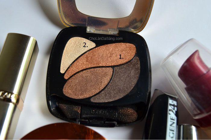 Hướng Dẫn Trang Điểm Đơn Giản Với Màu Môi Sáng Loreal, L'Oreal Color Riche Les Ombres, E3 Infiniment Bronze, Cho Làn Da Sáng #trangdiem #lamdep #huongdanlamdep #huongdantrangdiem #beautyblogger #makeup #loreal