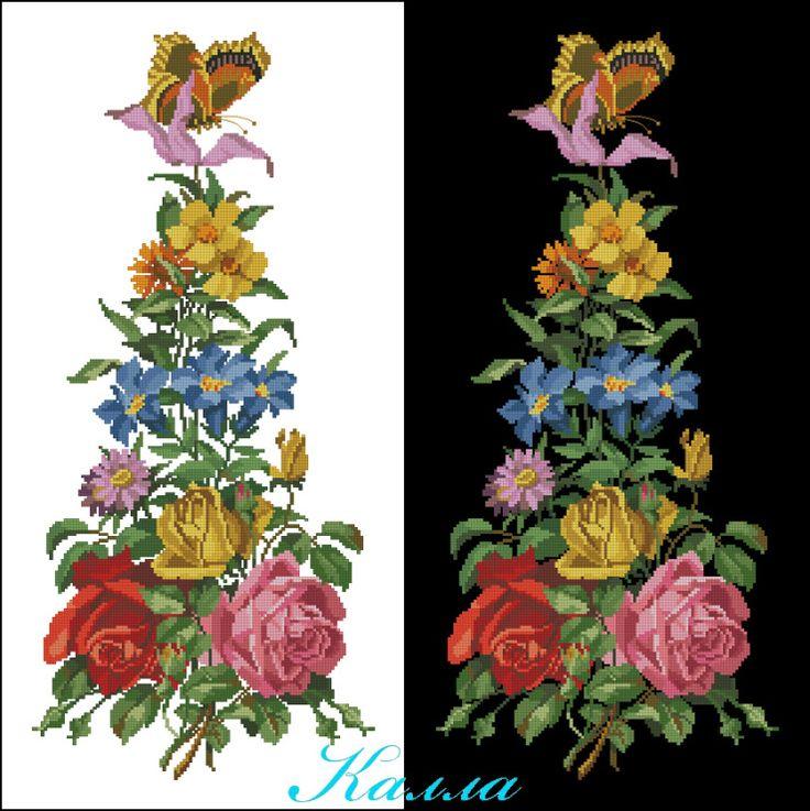 Gallery.ru / Фото #2 - Дорожка с цветами и бабочкой - Kalla