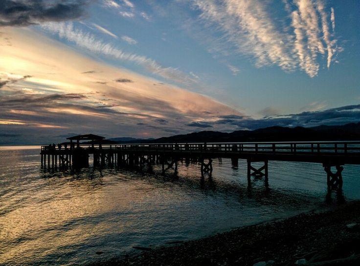 Davis Bay Pier in Sechelt, BC