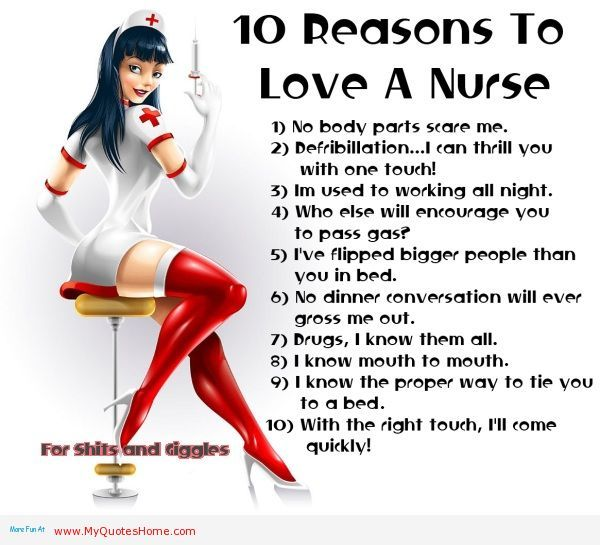 10 Reasons For Hookup A Nurse