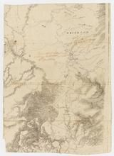 [Portion of Map of the Colony of New South Wales transmitted to Thomas Balcombe by Major Mitchell on 7 April 1834] [cartographic material] / Thomas Mitchell.