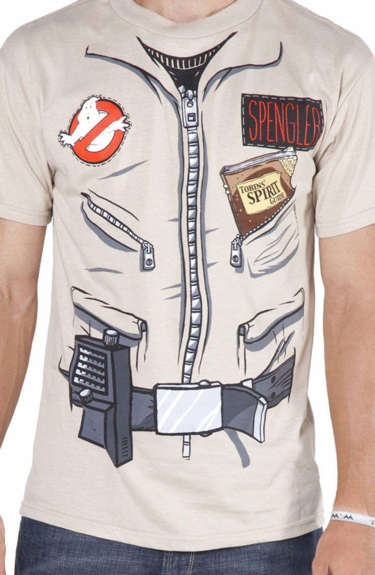 Egon Spengler Ghostbusters Shirt: Ghostbusters Mens T-shirt