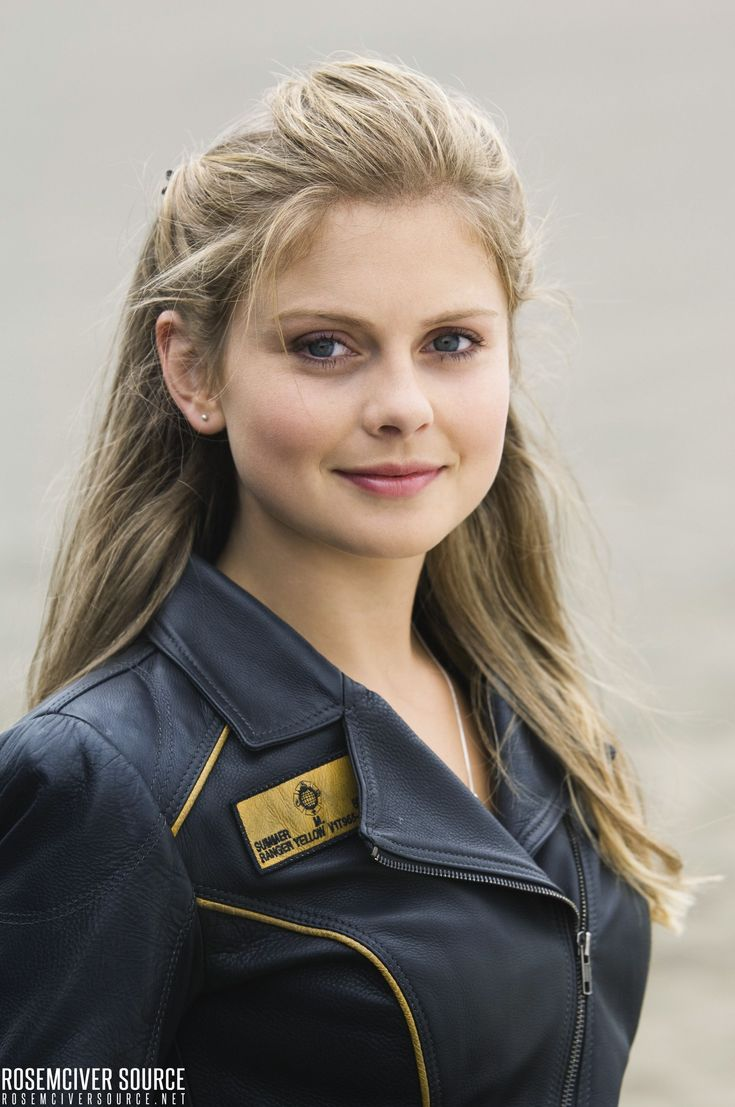 Power Rangers RPM - Summer - Rose McIver | Power rangers ...