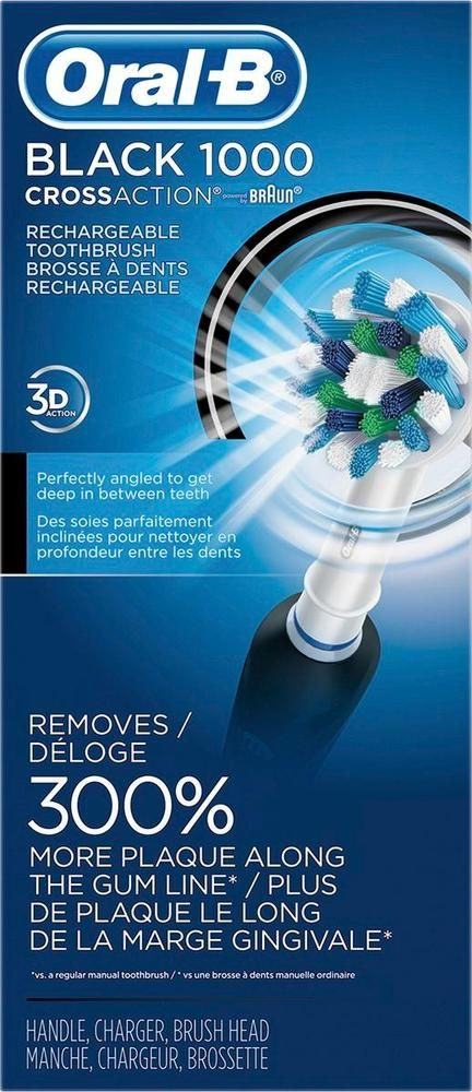 Oral-B - Professional Care 1000 Electric Toothbrush - Black
