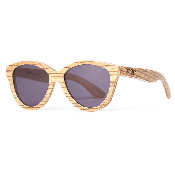 Proof 'McCall Lacewood' sunglasses are made from real wood, and are designed just for women.