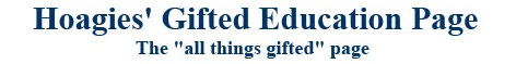Resource and links list from Hoagie's Gifted for twice-exceptional students (gifted and learning disabled)