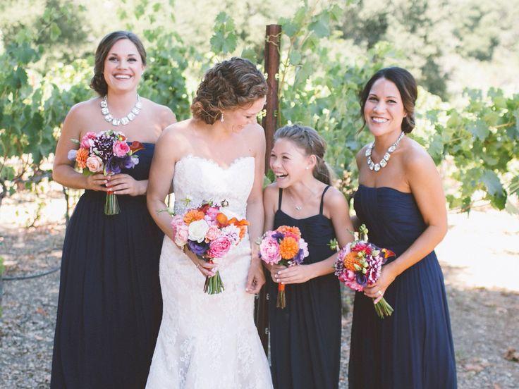 Junior Bridesmaids: Etiquette Q&A   Photo by: Anna Delores Photography   TheKnot.com