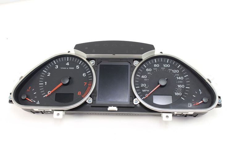 cool Great 2009 AUDI Q7 4L - INSTRUMENT CLUSTER / SPEEDOMETER 2018-2019 Check more at http://24carshop.com/product/great-2009-audi-q7-4l-instrument-cluster-speedometer-2018-2019/