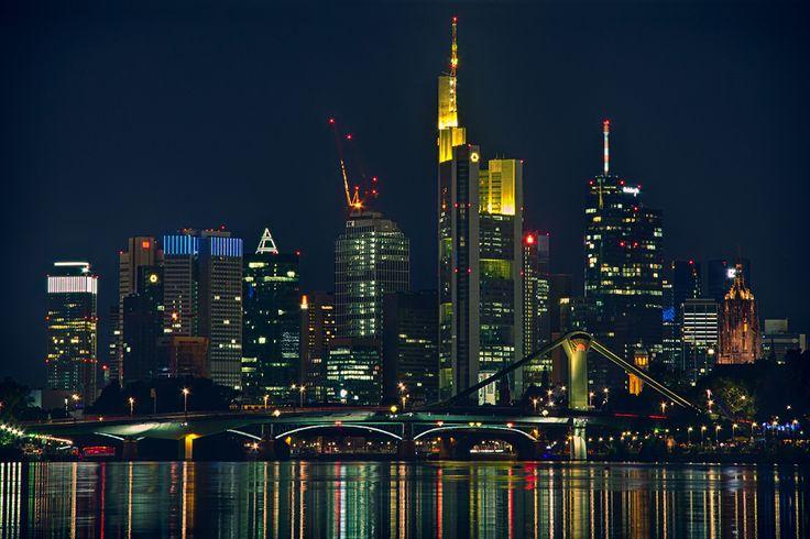 Die #Frankfurter #Skyline ist immer  wieder #imposant anzuschauen...