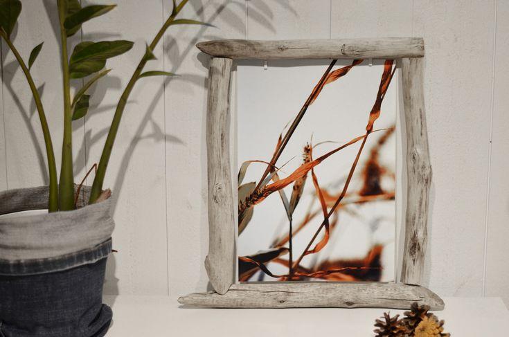 DIY fotoram av drivved - Diagnos:Kreativ