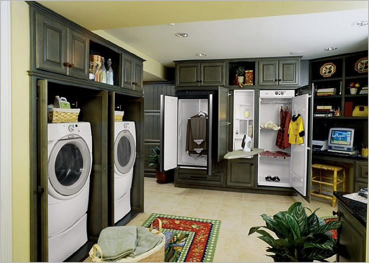 Efficient Laundry Room Designs   Interior Design   Your Laundry Room Is One  Of The Most Important, Yet Neglected Rooms That Can Serve As A Craft Room  And A ... Part 62
