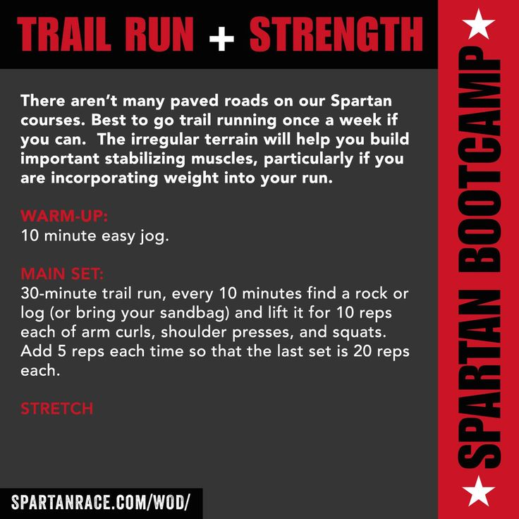Trail Run & Endurance WOD | Spartan BOOTCAMP