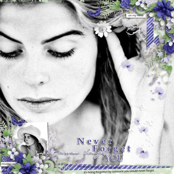 Kit Never Forget You by Eudora Designs. Template The Bigger Picture #8 by Heartstrings Scrap Art. Photo per kind favour of Marta Everest Photography.