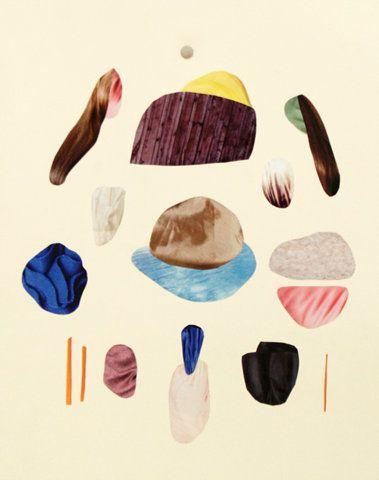rad collage by Malin Gabriella Nordin