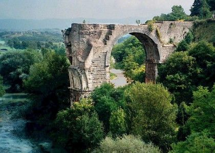 narni italy | ... bridge of Augustus at Narni in Umbria, Italy | Chianti Tuscany Travel