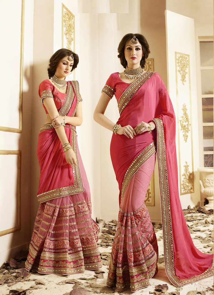 Shop Traditional Wedding sarees Online and indian wedding silk sarees at affordable prices from Mirraw.com, International Shipping, Best Quality, Easier Returns