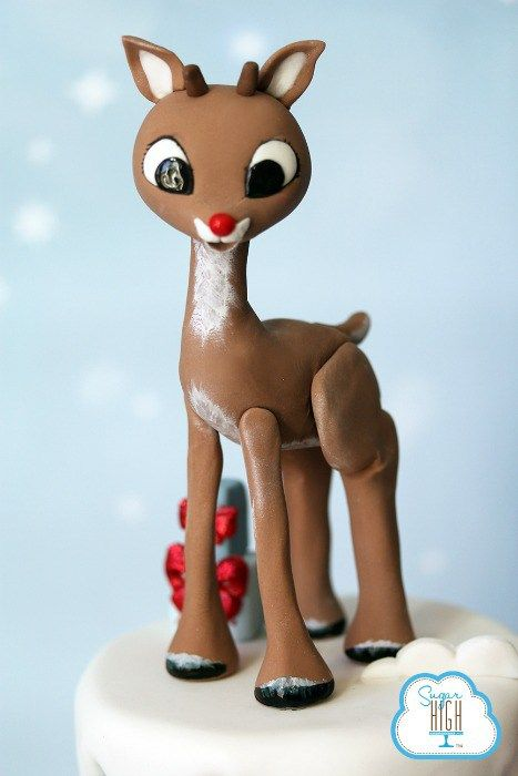 Rudolph Christmas Cake | Reindeer Christmas Cake - Christmas Inc  #christmas #christmastime #rudolph #reindeer #christmascake #xmas #xmastime #xmasgifts #christmasfood #christmasideas #christmasrecipes #christmasrecipe #baking #christmasbaking #christmasidea #bakingideas #foodblog #foodblogger #christmasblog #christmascountdown #yum #love #christmasiscoming #christmasinc #cake #cakes #cakedecorating