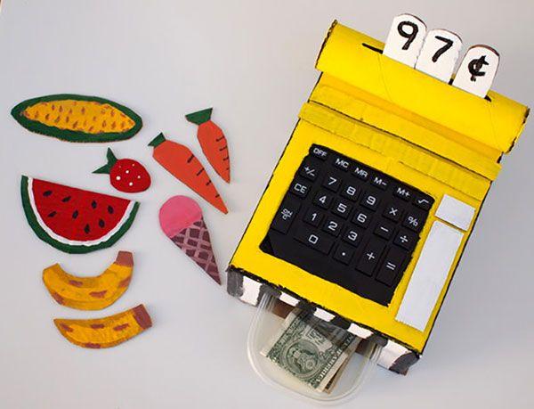Il registratore di cassadi cartone