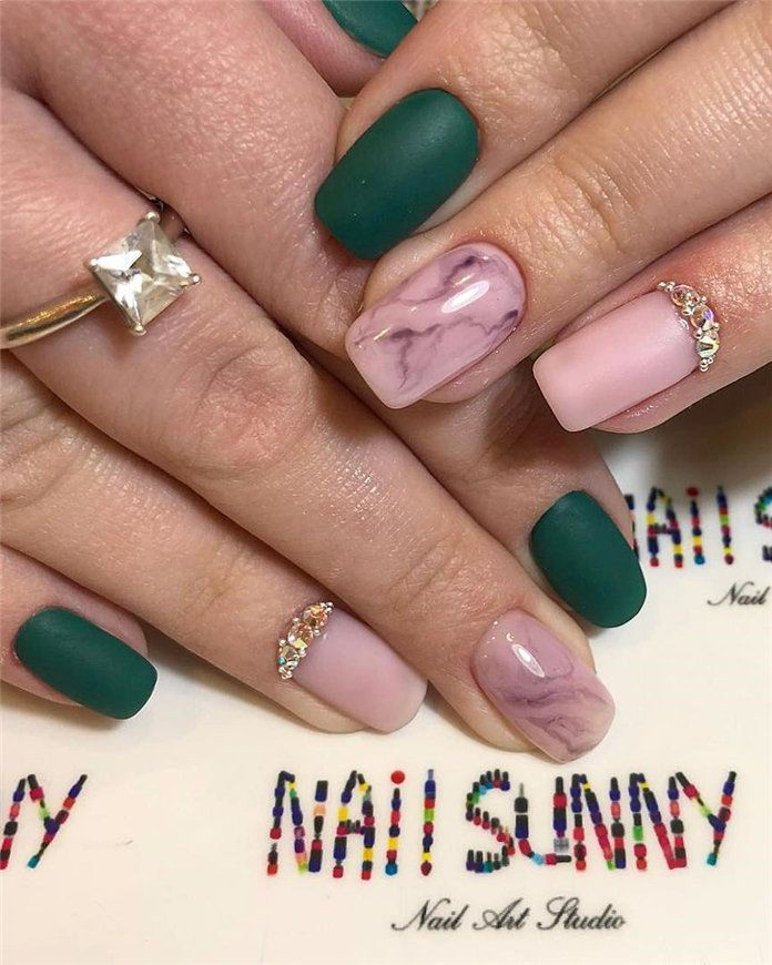 Easy Spring Nail Designs Ideas You Are Loving 2019 Spring Nail Colors Nail Designs Spring Nail Designs