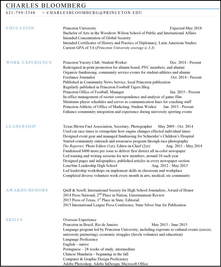 59 best Resume Writing images on Pinterest Resume writing - sample journalism resume