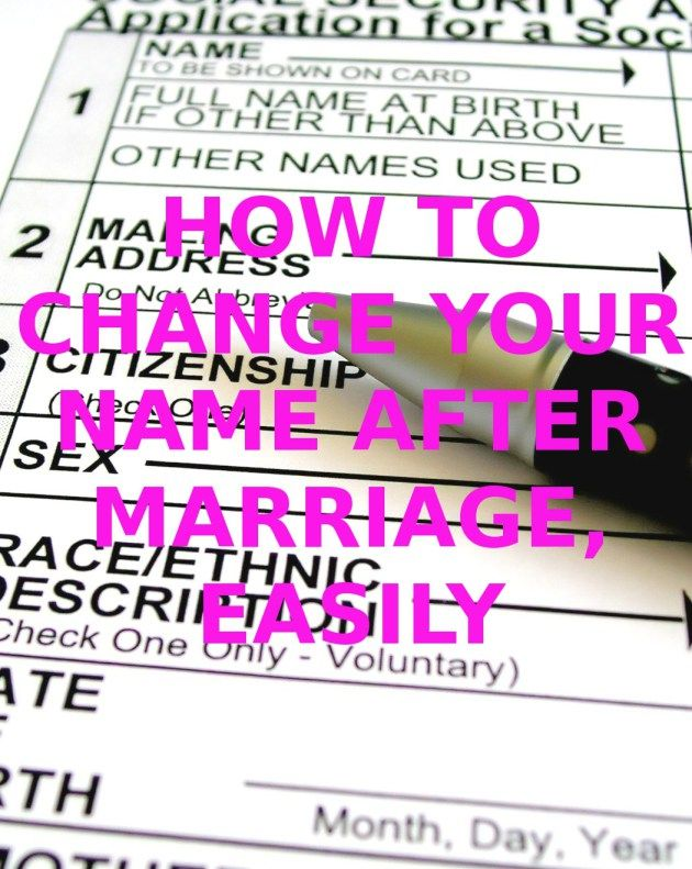 The  Best Change Name After Marriage Ideas On