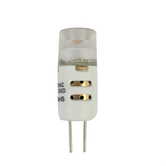 Luxrite 1.5W 12V G4 LED Bi-Pin Warm White 2700K Light Bulb