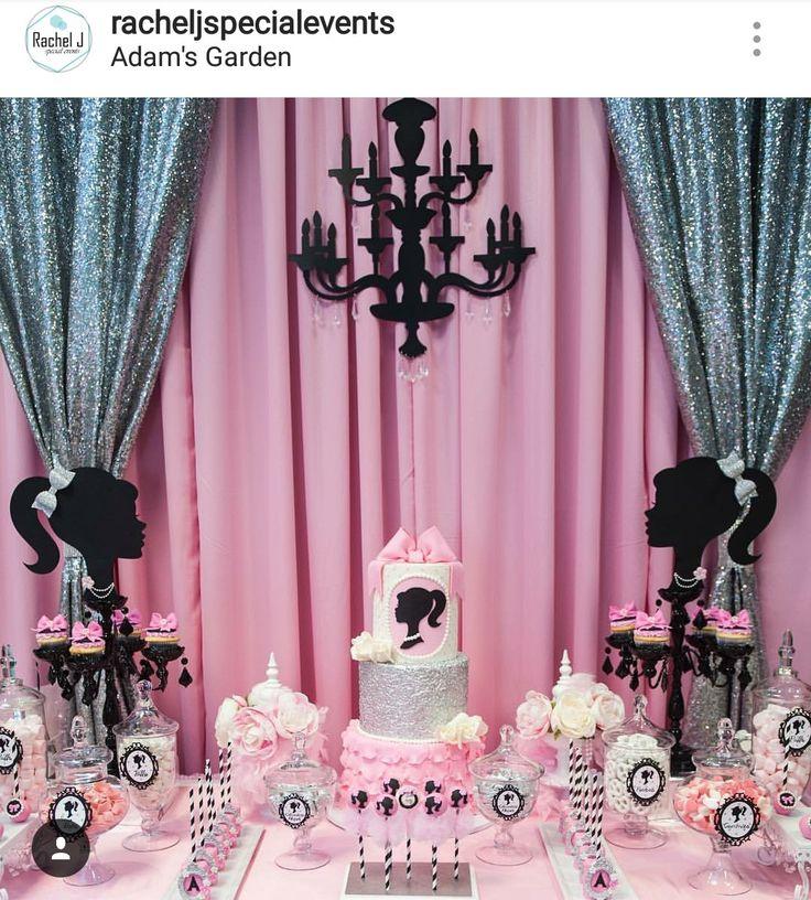 The 25 best Barbie party decorations ideas on Pinterest Zebra