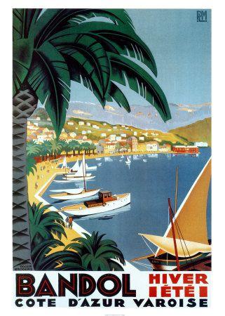 Vintage Riviera--color palette