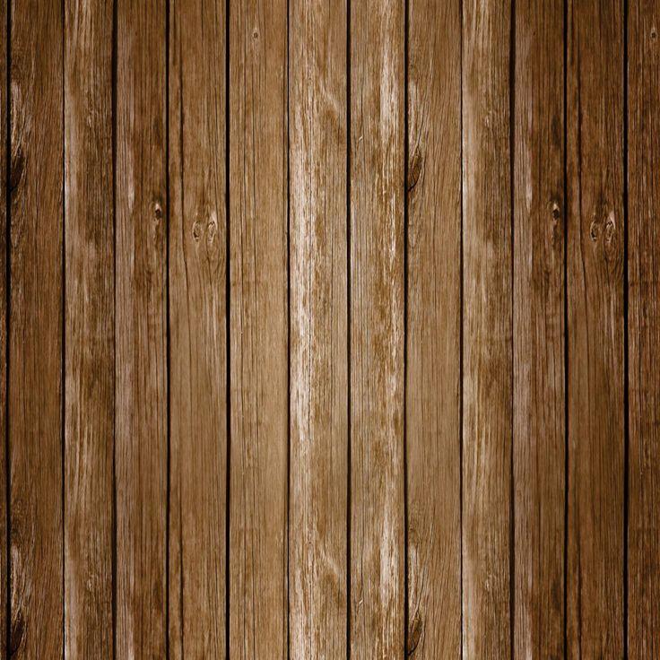 Papel de Parede Cerca de Madeira Escura R�stica - Papel de Parede Digital