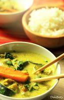Zeleninové curry s kokosovým mliekom