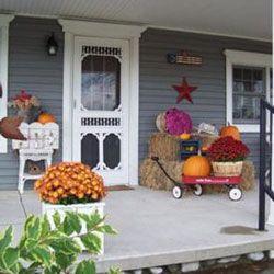 halloween front porch decorations   ... Porch Contest   Decorating for Autumn   Halloween Porch Decorations
