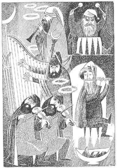 tove jansson's hobbit illustrations