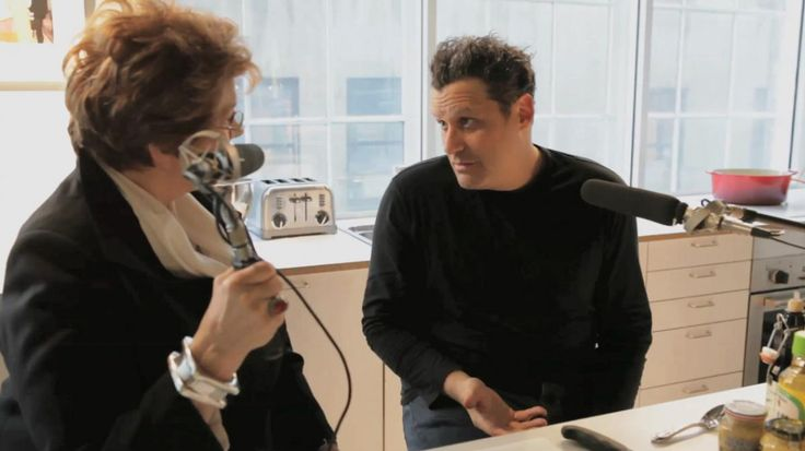 Isaac Mizrahi is the award-winning international designer and Project Runway judge. He's a self-taught cook who doesn't waste time. He goes straight to the masters and has a critical eye for whose recipes to trust. In this installment of The Key 3, he shares with Lynne Rossetto Kasper his methods for preparing a basic tomato sauce, a family vinaigrette and Jacques Pepin's chocolate souffle.