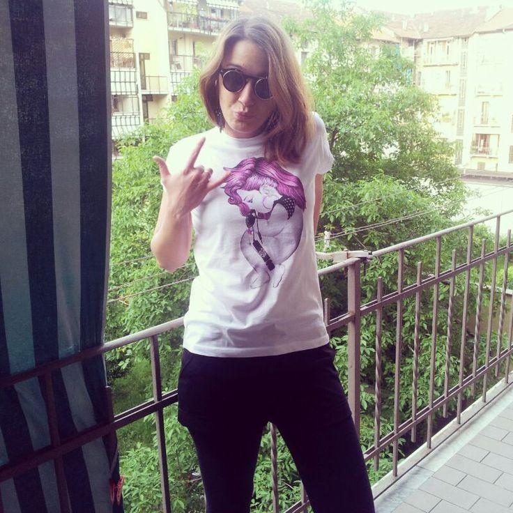 Elisa Raimondo punk Siamoises