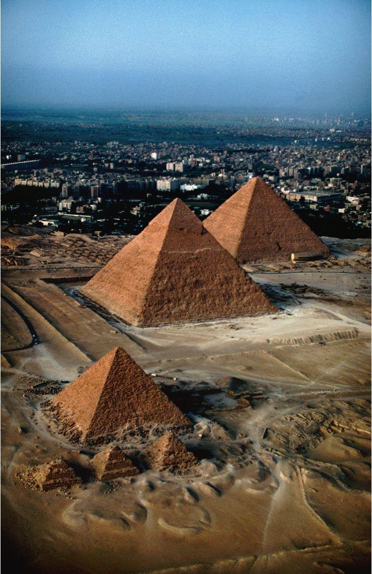 Great Pyramids of Giza, Cairo, Egypt