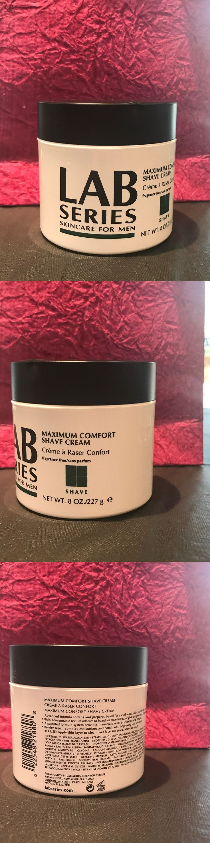Shaving Creams Foams and Gels: Lab Series Maximum Comfort Men Shave Cream 8Oz New Same As Pics -> BUY IT NOW ONLY: $45.5 on eBay!