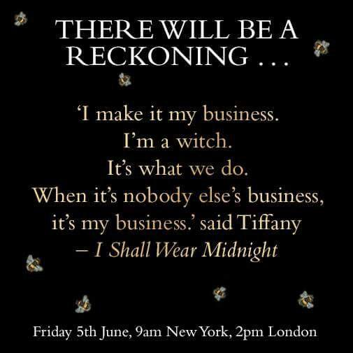 Tiffany Aching I shall wear midnight