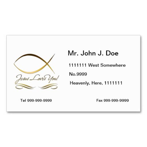 business card template size