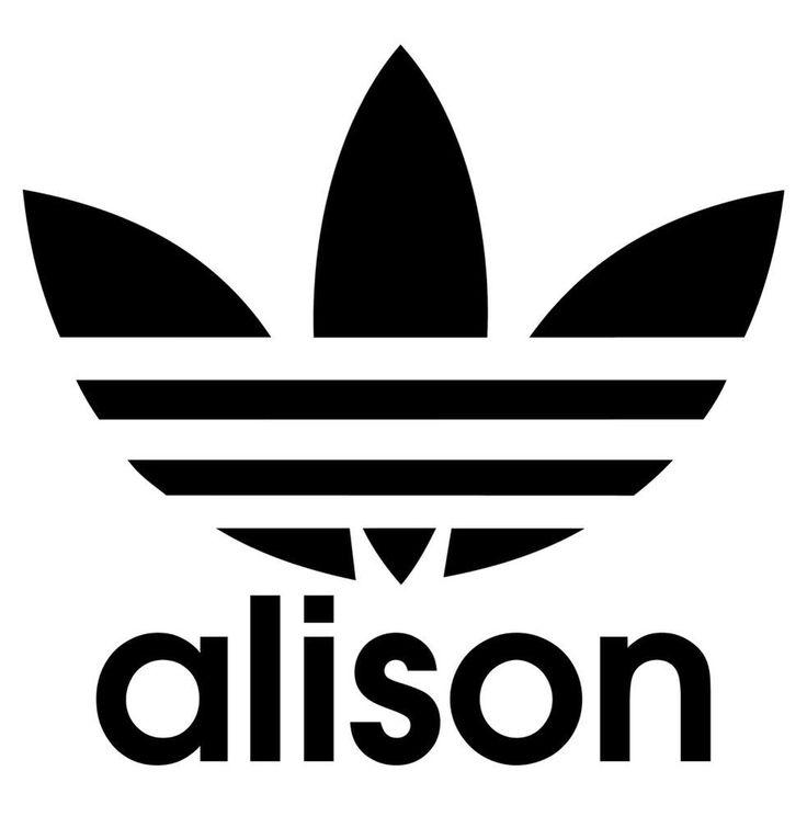 Alison Wonderland Alison Wonderland Adidas Logo