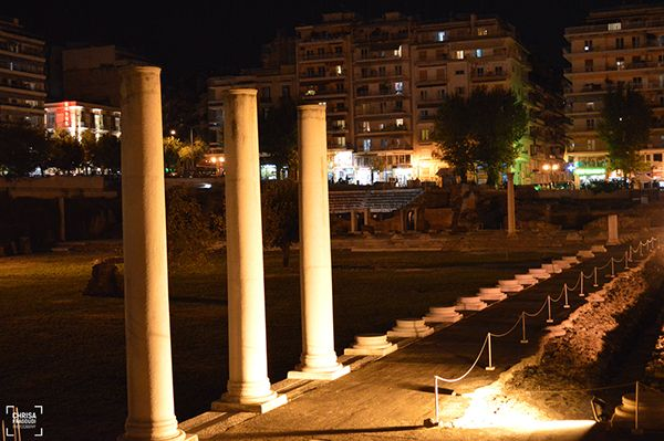 Roman Forum-Thessaloniki  photo by Chrisa Fragoudi/behance.net