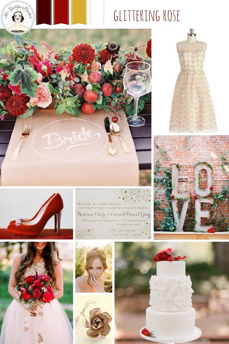 Gliterring Rose Wedding