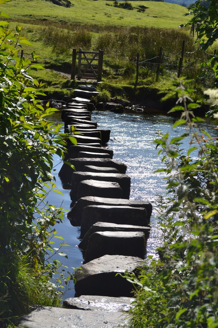 Stepping stones to the north, Lake District, Cumbria, England, United Kingdom, 2014, photographer unknown.