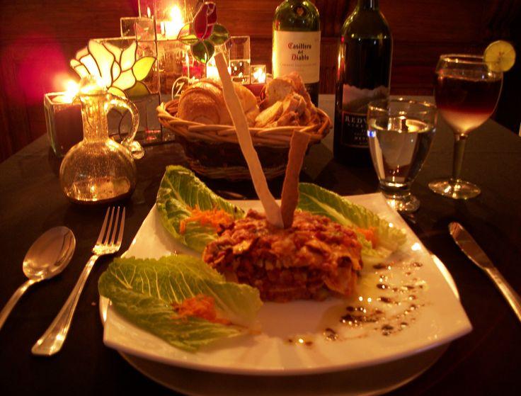 1000 images about salados on pinterest lasagna - Ideas cenas romanticas ...