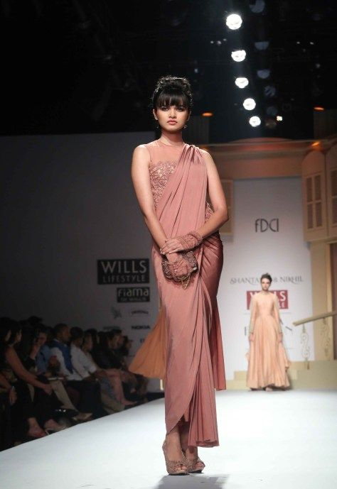 March 26: http://www.ShantanuNikhil.com/ Collection at Wills Lifestyle India #Fashion Week 2014: #Desi