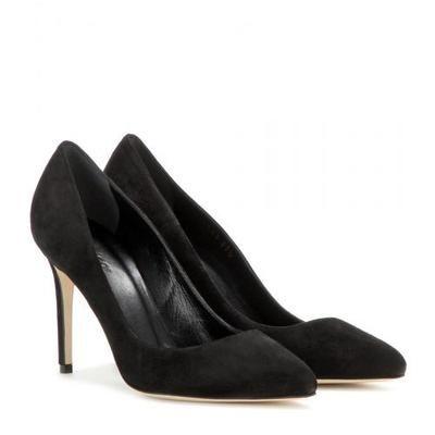 Gucci - Suede pumps #shoes #gucciogucci #gucci #designer #covetme