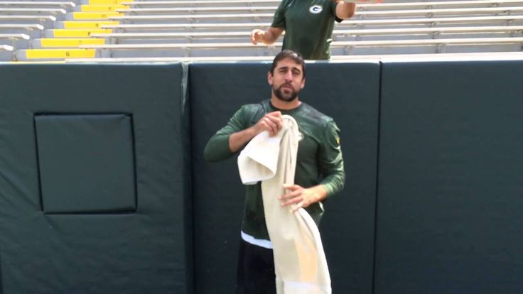 Aaron Rodgers - Ice Bucket Challenge. We have something in common. Did my ice bucket challenge 2wks ago!