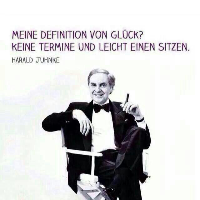 Harald Juhnke's Definition von Glück | echtlustig.com - Lustige Bilder, Lustige Videos und Picdumps die dich zum Lachen bringen
