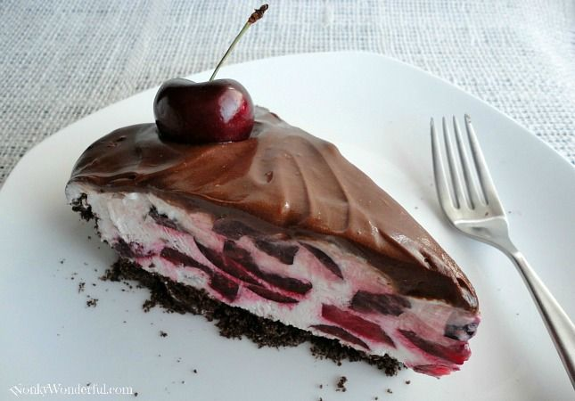 Black Forest Cream Pie