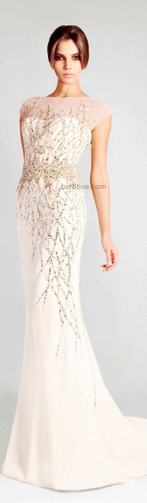 Simple and beautiful white long gown for ladies... click on picture to see more