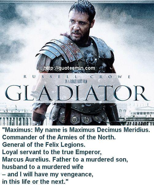 Quotes Marcus Aurelius Gladiator. QuotesGram